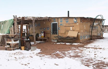 Native American living conditions